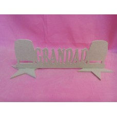 MDF Grandad Camper van plaque